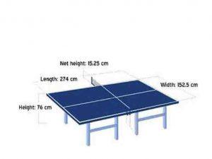 Permainan Tenis Meja Guru Penjaskes